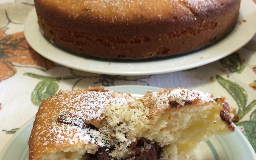 Soft Nutella Cake